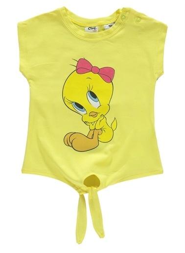 Tweety Tweety Kız Bebek Taytlı Takım 6-18 Ay Sarı Tweety Kız Bebek Taytlı Takım 6-18 Ay Sarı Sarı
